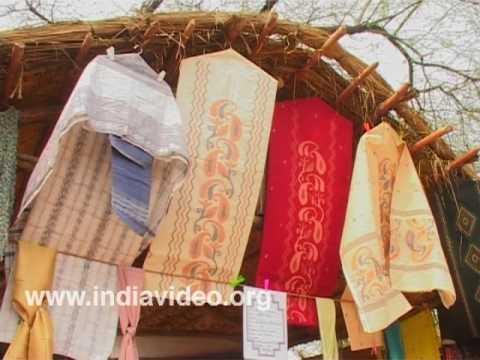 Jamdani Cotton Materials from West Bengal