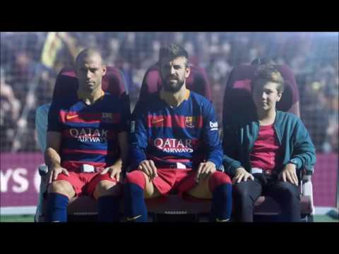 Qatar Airways In Flight Safety Video Staring FC Barcelona Team