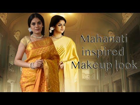 Mahanati inspired makeup look | With Love Sindhu