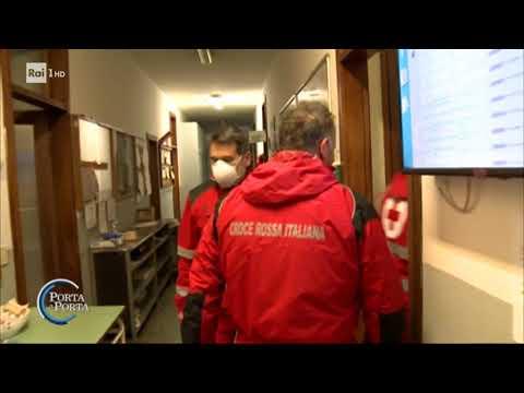 Coronavirus: Piacenza, una città sotto assedio - Porta a porta 26/03/2020