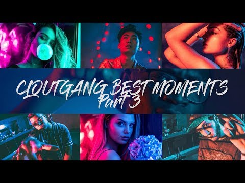 CLOUTGANG Best Moments Part 3 - DEJI IN LA! (With RiceGum, FaZe Banks, Alissa Violet, Sommer Ray)