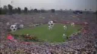 FIFA world cup USA 1994 closing ceremony Alexi Lalas