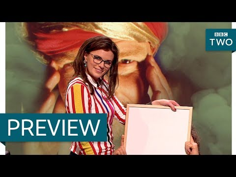 Download Youtube: Aisling Bee channels Carol Vorderman - QI: Series O The Occult Preview - BBC Two