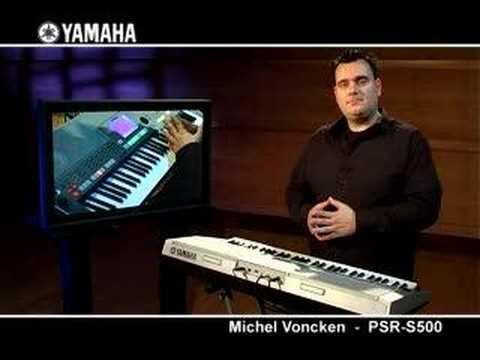Michel Voncken and the Yamaha PSR-S500