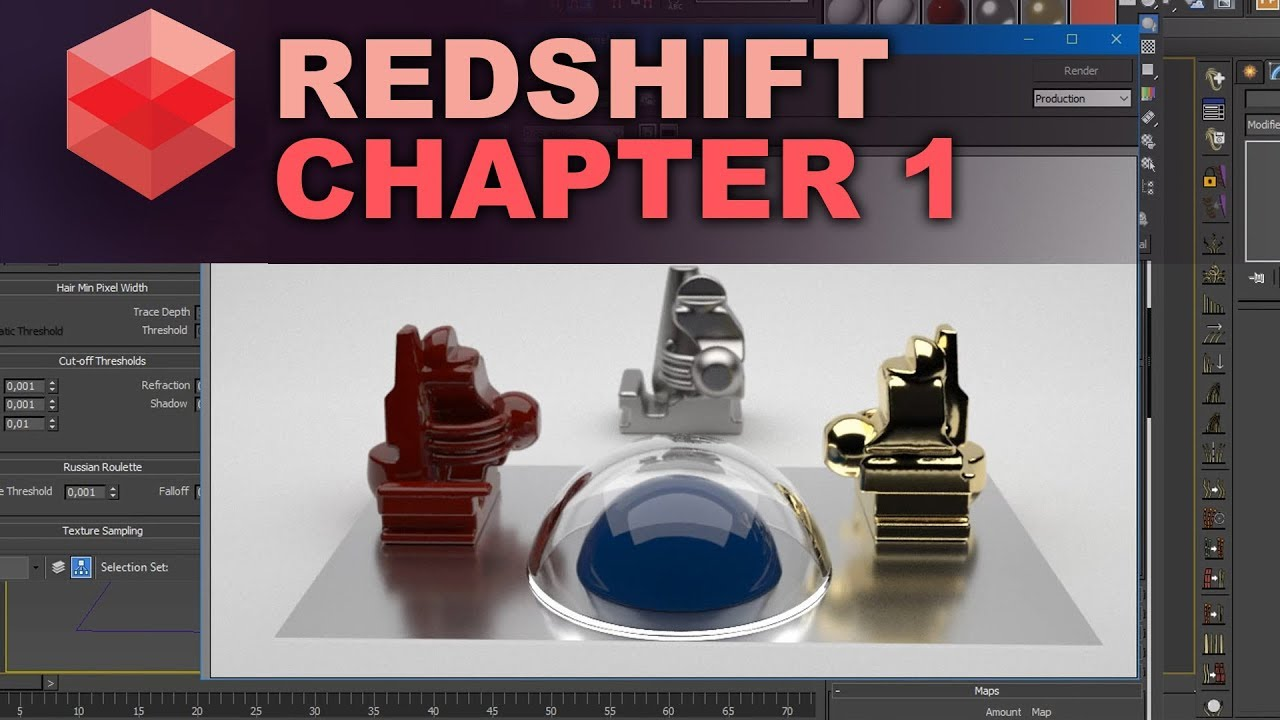 Redshift for 3dsmax  Introduction  Setup, render methods and fixing noise  methods