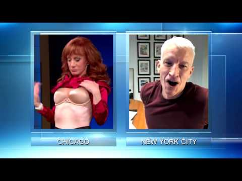 Kathy Griffin catches Steve off guard!