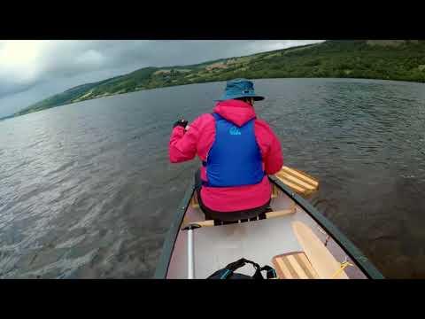 Loch Tummel Canoe August 2018