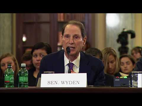 Wyden speaks to importance of CDA 230 at Senate Commerce hearing