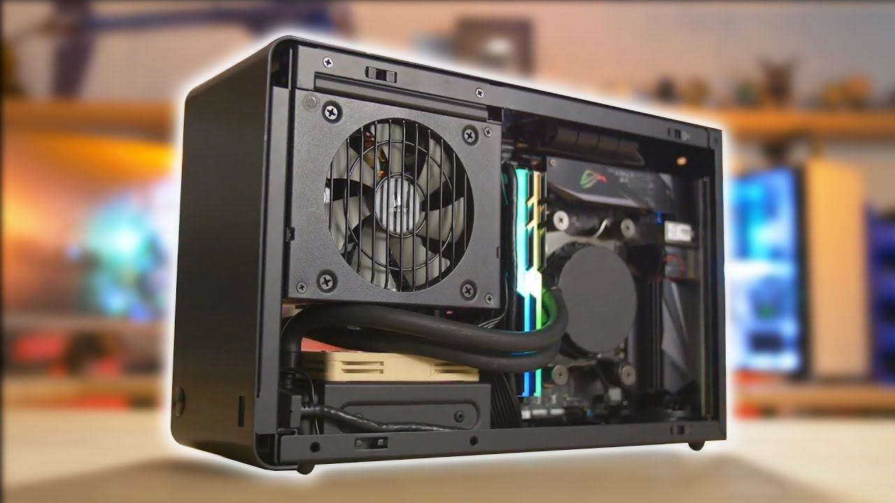 The smallest water cooled PC Ive EVER built DAN Case A4