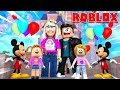 The Happy Roblox Family | First Trip To Disneyland | Episode 3