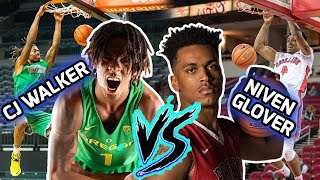 CJ Walker & Niven Glover Go From TEAMMATES to OPPONENTS! BOUNCE BROS' TAKING OVER COLLEGE! 🌟