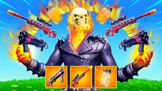 The  FIRE WEAPONS *ONLY* Challenge in Fortnite!