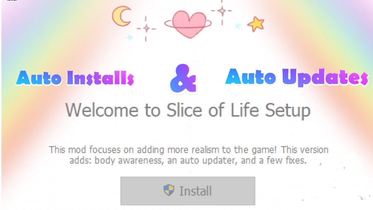 How to Download *NEW* Slice of Life Mod Auto Installer   Auto