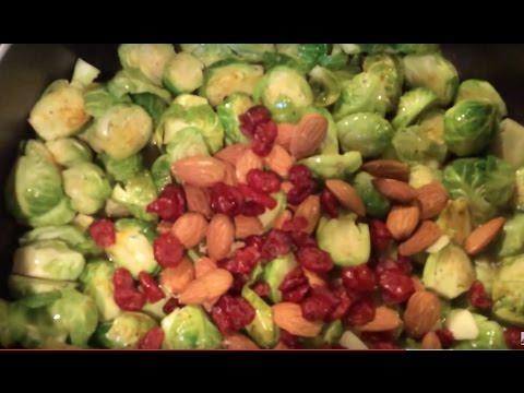 Рецепт Брюссельская капуста с шампиньонами