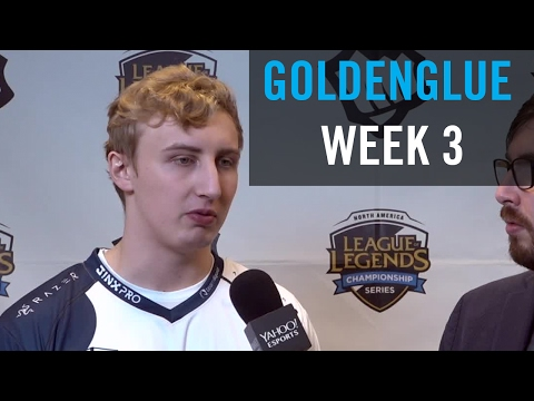 Goldenglue on ignoring criticism, working hard to improve, and what's different about Team Liquid