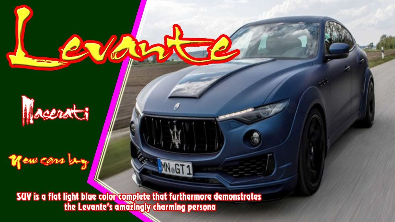 2019 maserati levante   2019 maserati levante esteso   new cars buy