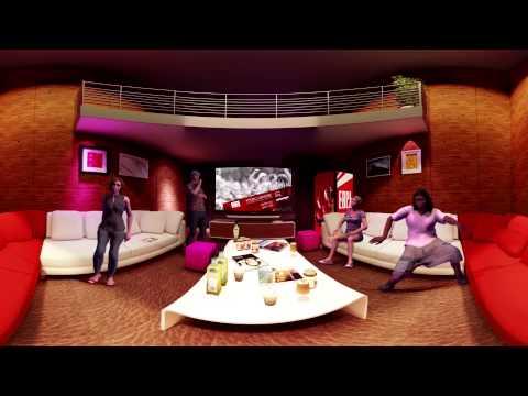 Karaoke room VFX out 3D stereoscopic 0731