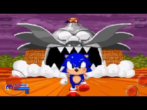 SegaSonic The Hedgehog - Android Arcade Gameplay