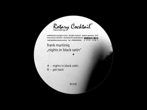 Frank Martiniq  - get back -  [RC026] B