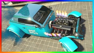 How To Get RARE NAKED HOTKNIFE CAR in GTA 5 Online | RARE Modded Car Glitch PS4/Xbox One/PC 1.42