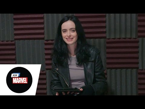 Ask Marvel: Krysten Ritter