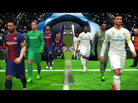 UEFA Champions League 2018 final [UCL] - Real Madrid vs FC Barcelona - PES 2017