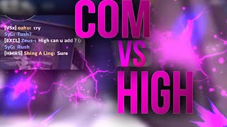 COM ~ Zeus vs High from Hammers - Who will win ? He added me ?? | Critical Ops