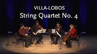 String Quartet No. 4 • Villa-Lobos • UFF Quartet