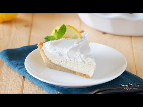 Paleo Lemon Cream Pie (gluten/grain/egg/dairy-free)