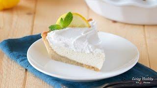 Paleo Lemon Cream Pie
