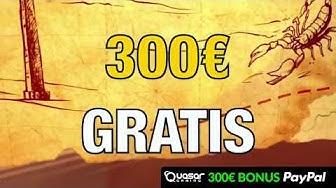 ⇒ Mit 500€ anstatt 300€ Gratis in der Online Spielo zocken? Das geht!