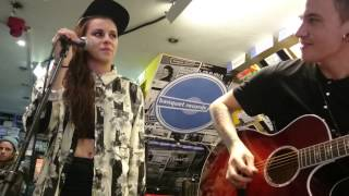 PVRIS//Let Them In acoustic at Banquet Records