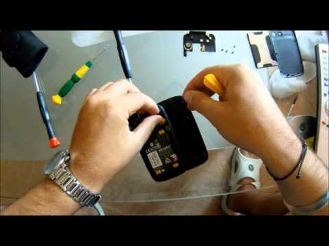 How to replace HTC TyTn II LCD Screen