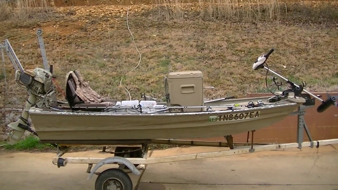 Best 10-foot jon boat setup ever! - YouTube