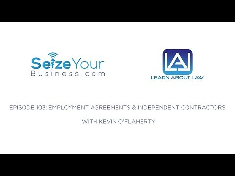 SYB 105:  Employment Agreements and Independent Contractors