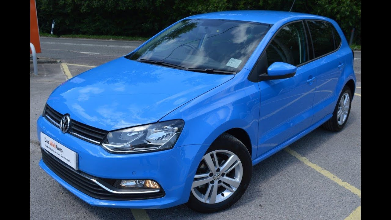 2016 vw polo match 1 2 tsi 90ps dsg auto mayan blue for sale petersfield youtube. Black Bedroom Furniture Sets. Home Design Ideas
