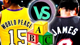 all time last names a m vs all time n z players   nba 2k17 challenge