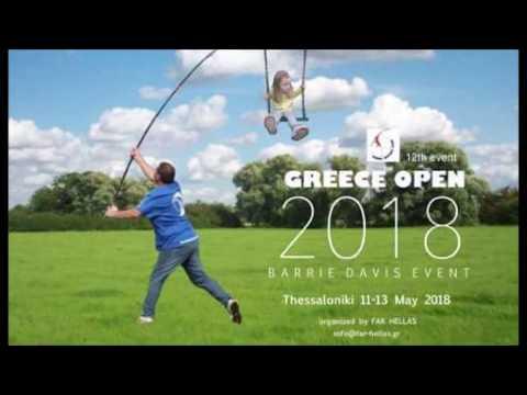 Greece OPEN 2018 ''Barrie Davis event'' by Far club Hellas 2