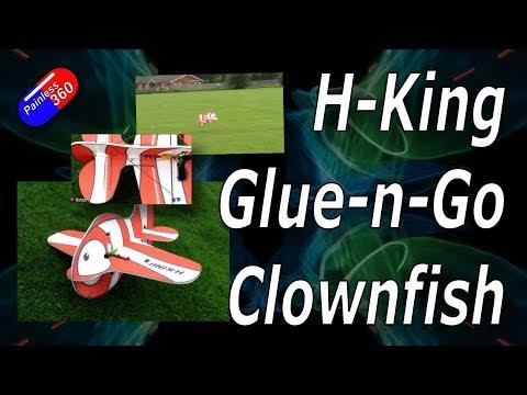 HobbyKing Glue-N-Go Clownfish EPP Plane Model