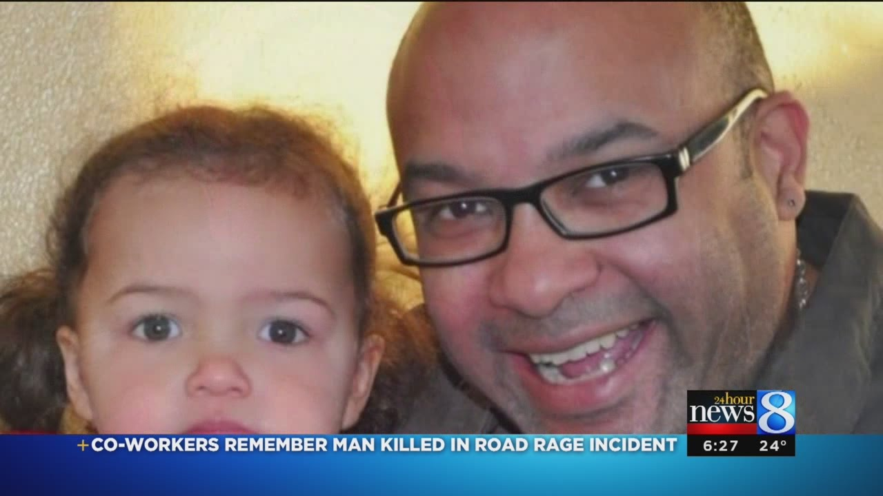 Co-workers remember man killed in road rage incident - YouTube