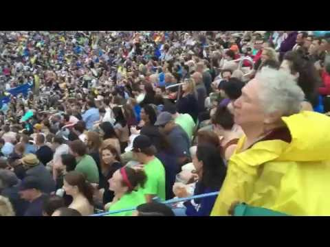 Bob Dylan at Forest Hills Stadium, First Song, July 8, 2016