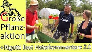 Großer Pflanztag im Juni 2019: Die Rettung des Rigotti-Gartens.