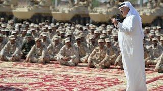 فيديو وصور: متعب بن عبدالله يتفقد قوات من الحرس الوطني قبل ذهابها للحد الجنوبي