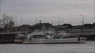漁船の帰港 金沢港 2017 2 9 坪内知佳 検索動画 30