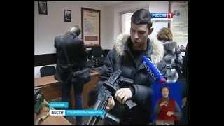 Пятигорские студенты побывали на экскурсии в спецназе(Стартовала акция МВД России
