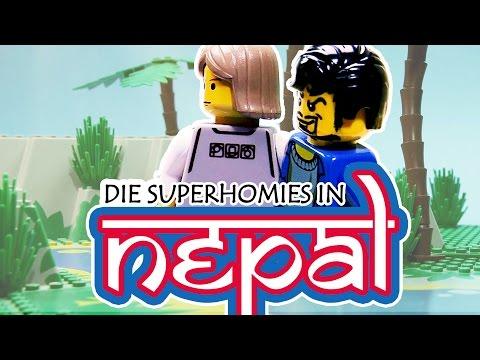 LEGO - Gronkh und Sarazar in Nepal