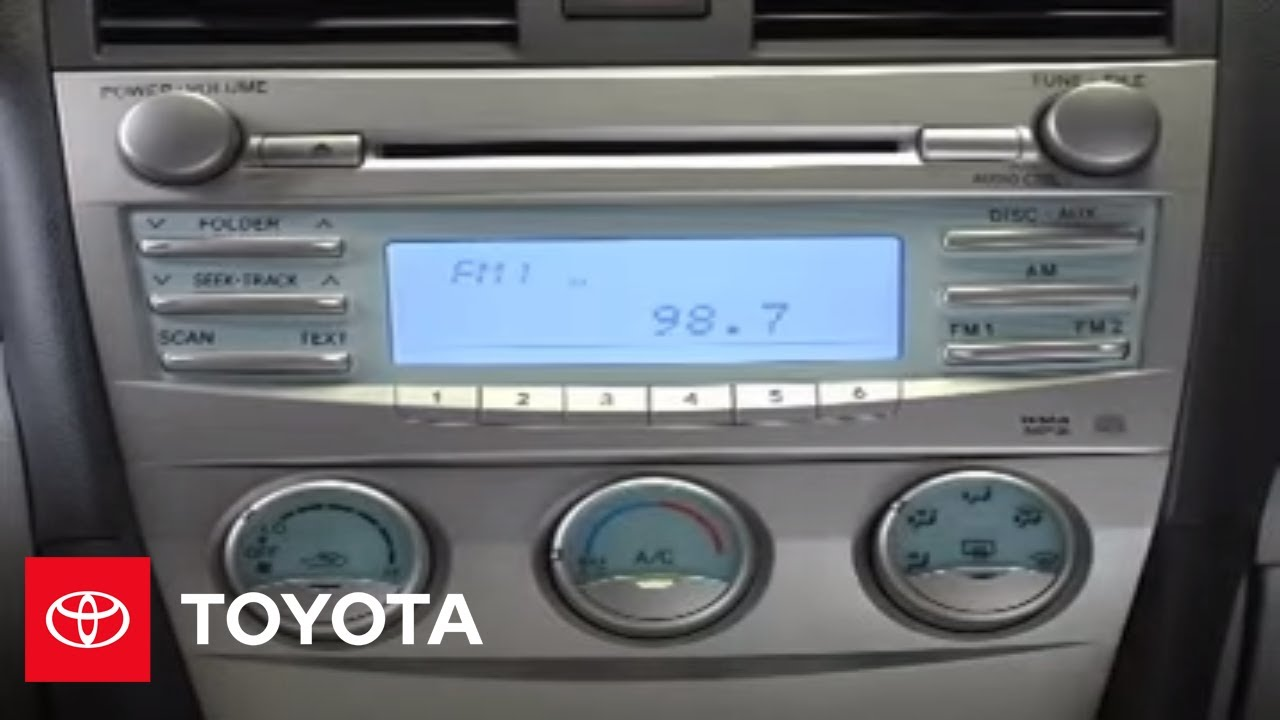 2009 Toyota Camry User Guides