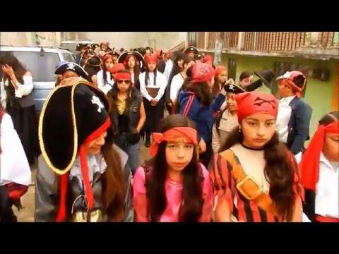 Desfile de Carnaval 2016. Telesecundaria No. 43. Tenango de Doria, Hgo.