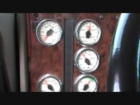 International 9400i Eagle Semi Dash Tour YouTube