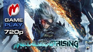 ▶ Metal Gear Rising: Revengeance - Начало игры [RU]